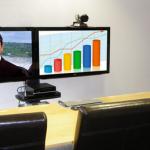 Videokonferenz Telepresence Konferenzraum Vermietung miete