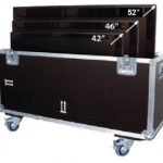 Flightcase Koffer für Bildschirm