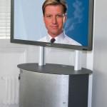 Medienwagen für Videokonferenz System und Kamera