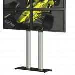 Walldisplay für vier Bildschirme