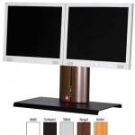 Ständer für zwei Bildschirme