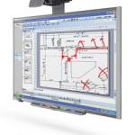 Smartboard 685ix Anwendung