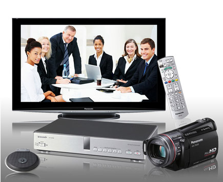 Panasonic HD Videokonferenzsystem