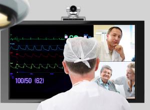 Videokonferenz Krankenhäuser