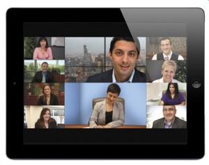 Video Meetings ueber das Internet mit Gast Einladefunktion